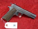 1914 Production WWI Colt 1911 45 Pistol