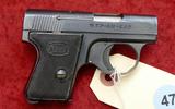 Mauser WTPII 6.35 cal Pocket Pistol