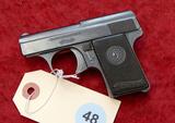 Walther Model 9 25 cal Pocket Pistol