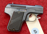 Bayard Pieper 7.65 cal Pistol
