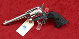Nickel Colt Single Action Frontier Scout