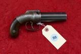 Allen & Thurber Antique Pepper Box Pistol