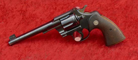 Colt Officers Model 38 Heavy Bbl Revolver