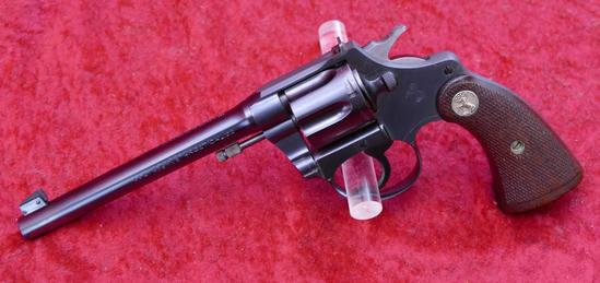 Excellent Colt Police Positive Target 22 Revolver
