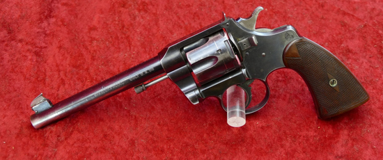 Early Colt Officers Model Dbl Action 38 Revolver