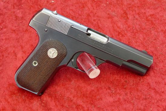 Colt Model 1908 380 cal Hammerless Pocket Pistol