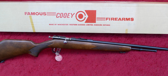Winchester Model 600 Cooey 22 Bolt Action Rifle