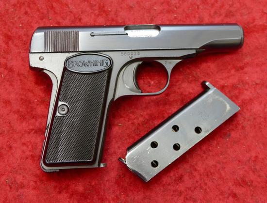 Belgium Browning Model 1955 380 cal Pistol