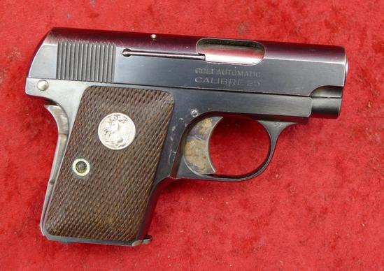 Fine Colt 1908 25 ACP Pocket Pistol