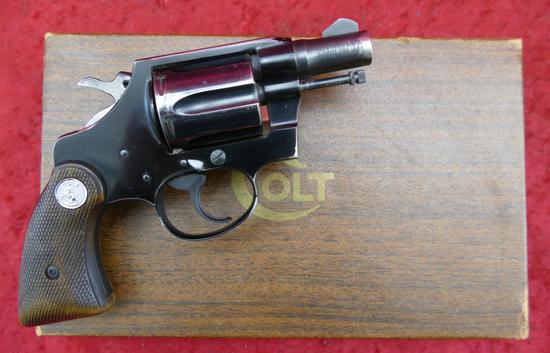 Colt Agent 38 Spec Revolver