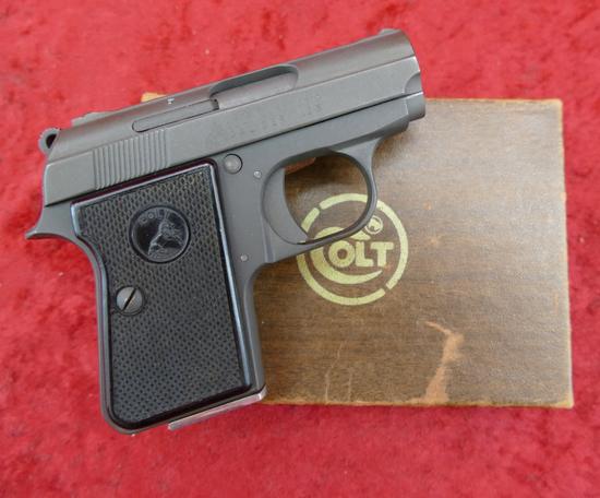 Colt 25 cal Junior Pistol w/Box