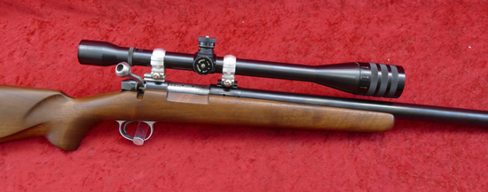 Custom 22 Bench Rest Bolt Action Rifle