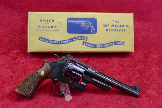Early Smith & Wesson Pre Model 27 357 Mag