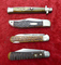 Lot of 4 Early Knives