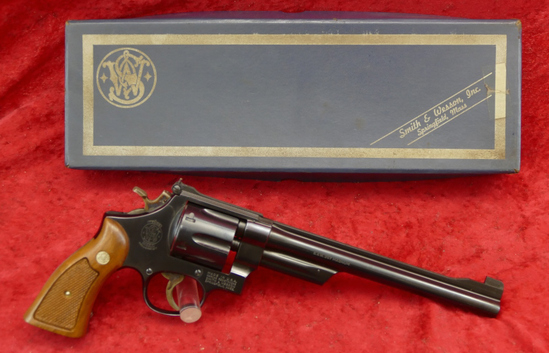 Smith & Wesson Model 27-2 357 Magnum Revolver
