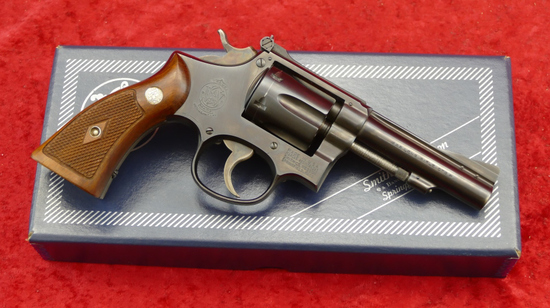 Smith & Wesson Combat Masterpiece Revolver