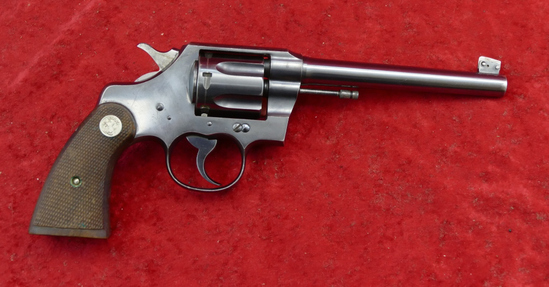 Colt Officers Model 22LR Revolver
