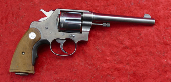 Colt New Service 38 Spec Rev