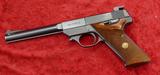 Hi Standard Olympic 22 Short Target Pistol