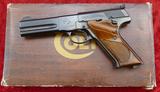 Colt Match Target Woodsman 22 Pistol