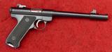 Ruger Mark I 22 Target Pistol
