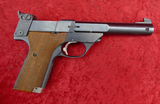 High Standard Supermatic Citation 22 Target Pistol