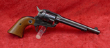 Early Model Ruger Single Six 22 cal Revolver