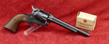 Early Model Ruger Single Six Convertible Pistol