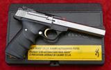 NIB Browning Buck Mark 22 cal Pistol