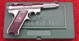 NIB Ruger MKIII Hunter 22 Pistol