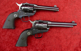 Pair of Early Single Six 22 cal Revolvers