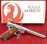 NIB Ruger Mark IV 22 cal Hunter Model Pistol