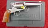 NIB Ruger SS Bear Cat Revolver