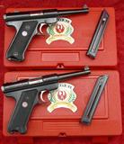 Pair of Ruger 50 yr Anniv. Mark II Pistols