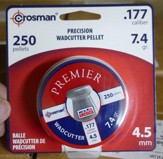 3,300 count Crosman .177 Wadcutter Pellets