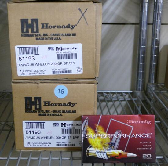 300 rds Mixed 35 Whelen Hornady Ammo
