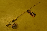 Lot Berkley Cherrywood Ice Fishing Rod/Reel Combos