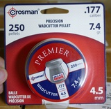 3,300 count Crosman .177 Wadcutter Pellets