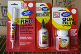 Lot of Gun Oil, Gun Grease & Gun Blue