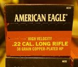 1,900 rds American Eagle 22LR Ammo