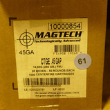 300 rds of MAGTECH 45 GAP Ammo