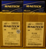 2,100 rds of MAGTECH 40 S&W Ammo