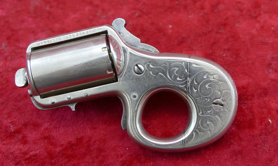 "James Reid ""My Friend"" Knuckle Duster Pistol"