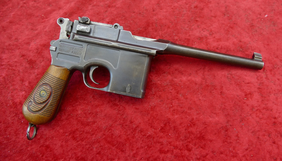 Mauser Red 9 Broom Handle Pistol
