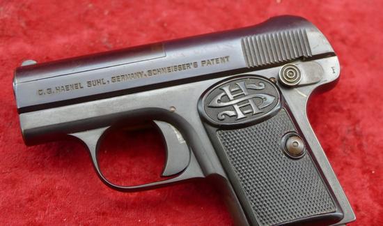 Haenel 25 ACP Pocket Pistol