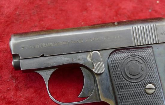 Belgium Pieper 25 ACP Pocket Pistol