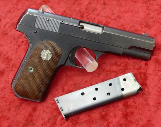 Colt 1903 Hammerless Pocket Pistol