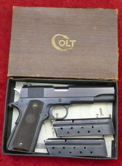 Colt Super 38 Automatic Pistol