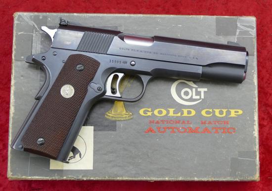 Colt Gold Cup National Match 45