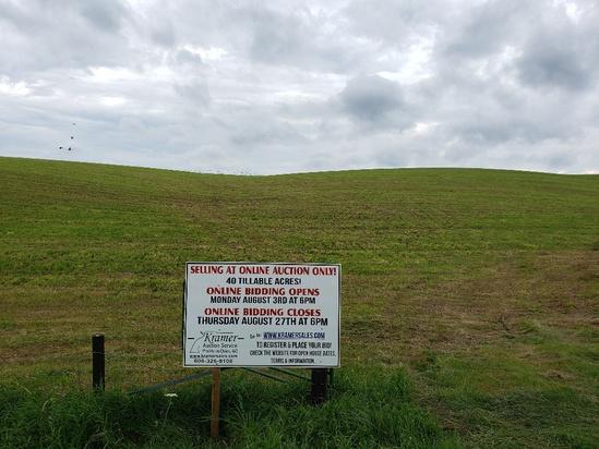 40 Tillable Acres Lafayette Ridge Dr.